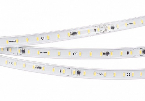 Лента ARL-50000PC-220V White6000 (3056, 72 LED/m, IP65)