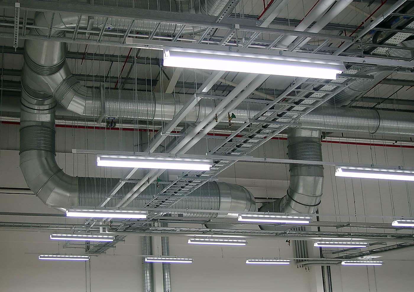 Виды и типы производственных светильников